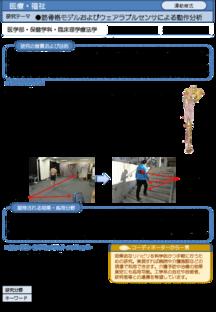筋骨格モデルおよびウェアラブルセンサによる動作分析