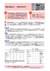 麦焼酎の製造方法(特許第3858066号)