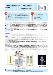 小径棒材の部分加熱ヘッディング加工方法及び 加工装置(特許第5660527号)
