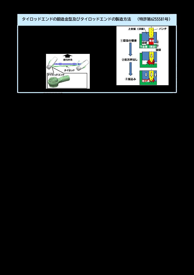 タイロッドエンドの鍛造金型及びタイロッドエンドの製造方法